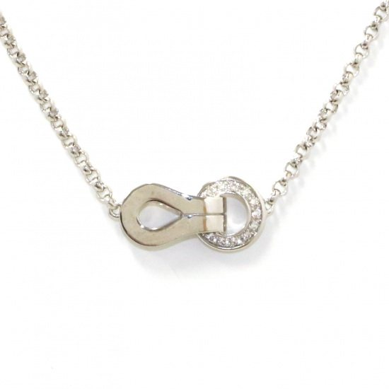 cartier necklace_pendant Cartier Necklace / pendant White Gold Agraf SM necklace -