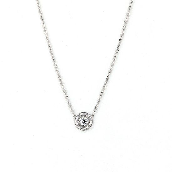 boucheron necklace_pendant Boucheron Necklace / pendant diamond -