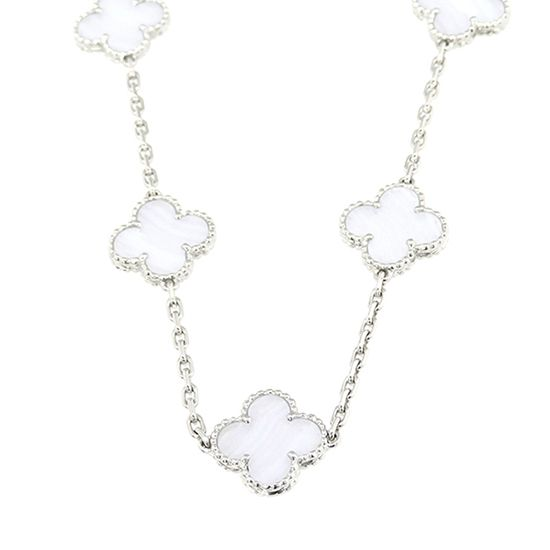 vancleefarpels necklace_pendant ヴァンクリーフ&アーペル ネックレス/ペンダント ヴィンテージアルハンブラ ロングネックレス 20モチーフ -
