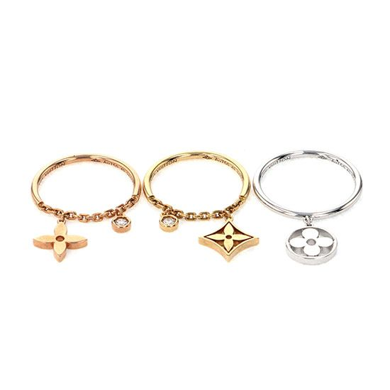 louisvuitton ring Louis Vuitton ring Burg Monogram Ideal ring -