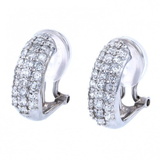 Yukizaki Select piercing_earrings Yukizaki Select Jewelry Earrings White Gold diamond -
