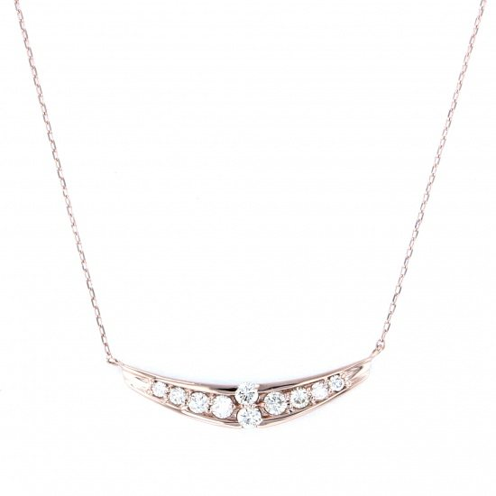 Yukizaki Select necklace_pendant Yukizaki Select Jewelry Necklace / pendant Pink gold diamond -