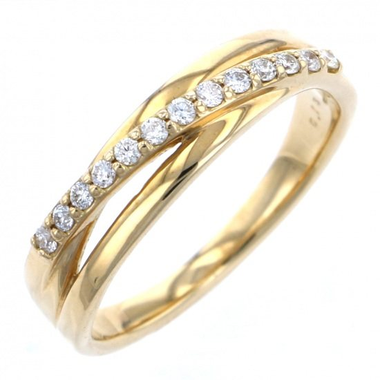 Yukizaki Select ring Yukizaki Select Jewelry ring Yellow Gold diamond -