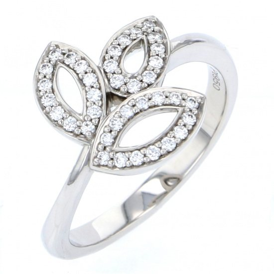 harrywinston ring HARRY WINSTON ring Lily cluster mini -