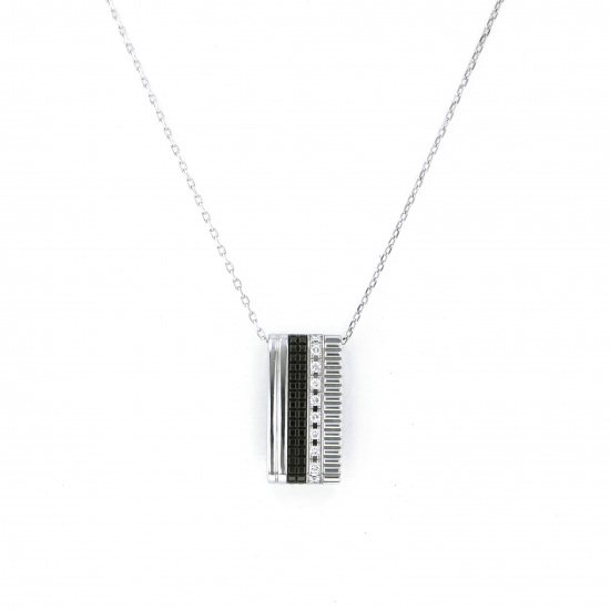 boucheron necklace_pendant Boucheron Necklace / pendant White Gold Cattle black necklace jpn00475