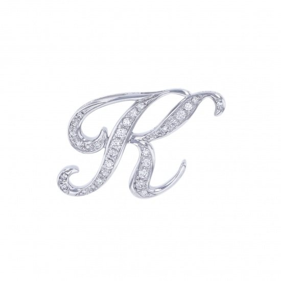 nombre alpha Nomble alpha Initial Pendant Top [K] Small Size [Regular] y.alpha.12.9.k.s