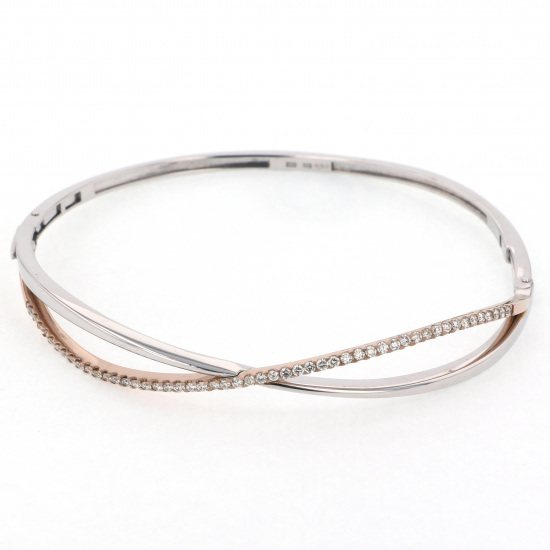 Yukizaki Select bracelet Yukizaki Select Jewelry bracelet White gold / pink gold diamond bracelet -