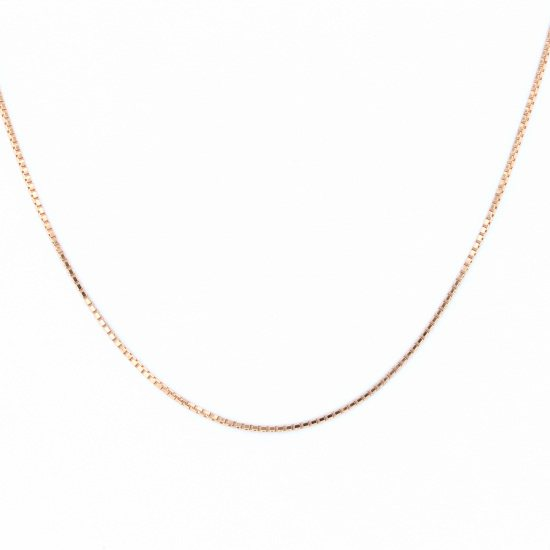 Yukizaki Select necklace_pendant Yukizaki Select Jewelry Necklace / pendant Pink gold Venetian necklace Six 1.0 / 50cm -
