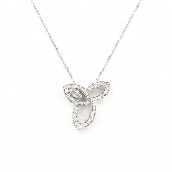 harrywinston necklace_pendant HARRY WINSTON Necklace / pendant Lily cluster -