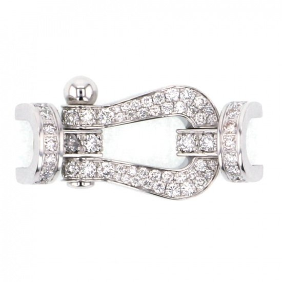 fred buckle FRED buckle Force 10 (LM) Full diamond buckle 0b0050-000