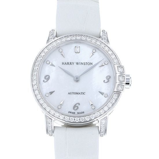 harrywinston midnight HARRY WINSTON Midnight Automatic 29mm Bezel diamond midahm29ww001