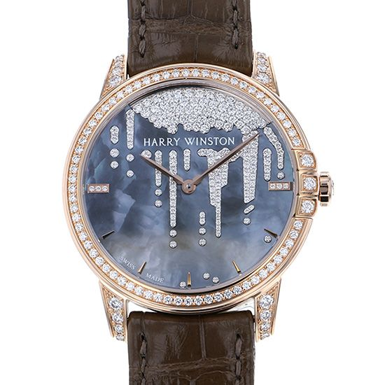 harrywinston midnight HARRY WINSTON Midnight diamond Staractite midahm36rr001