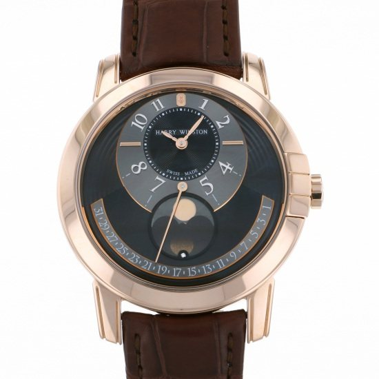 harrywinston midnight HARRY WINSTON Midnight Moon phase Automatic midamp42rr002