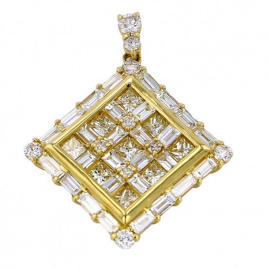 regalia necklace_pendant Regalia Necklace / pendant Yellow Gold diamond Pendant Top pp-2084.12.6.5