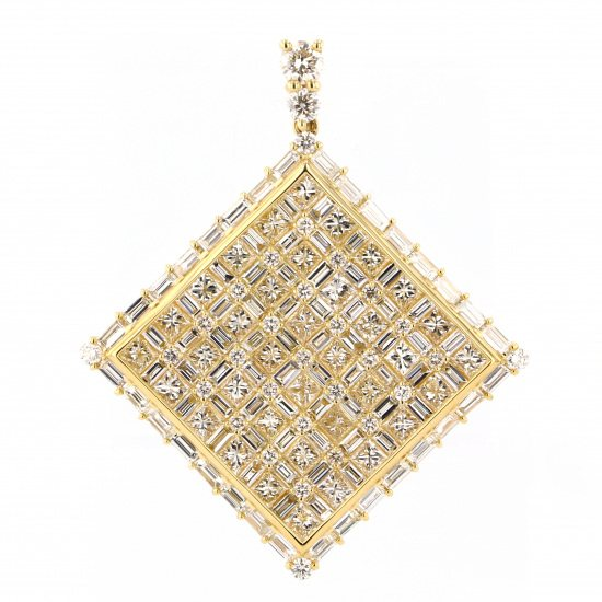regalia necklace_pendant Regalia Necklace / pendant Yellow Gold diamond Pendant Top pp-2900.12.6.5