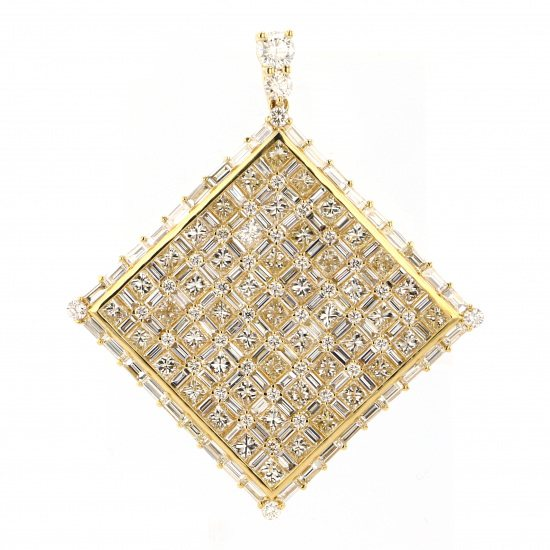 regalia necklace_pendant Regalia Necklace / pendant Yellow Gold diamond Pendant Top pp-2901.12.6.5