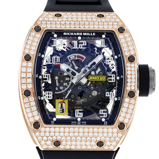 richardmille other Richard Mille Automatic Decratable rotor diamond rm030