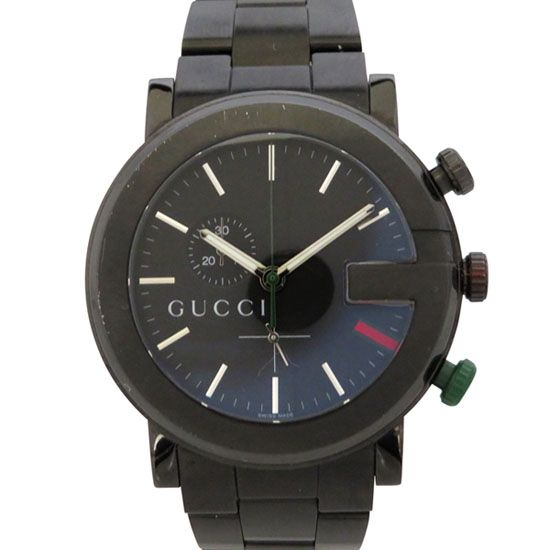 gucci other グッチ グッチ クロノグラフ PVD 101m