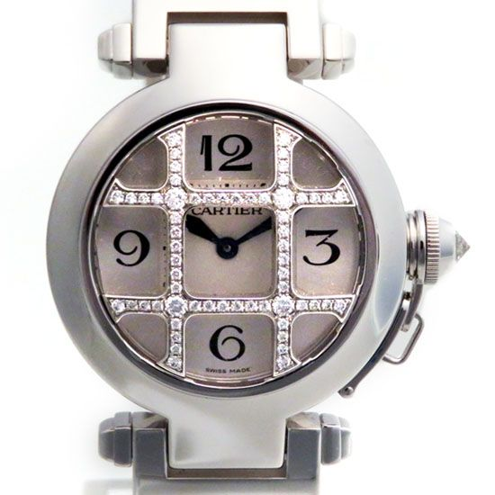 cartier pasha Cartier Pasha 32 Grid diamond wj11934g