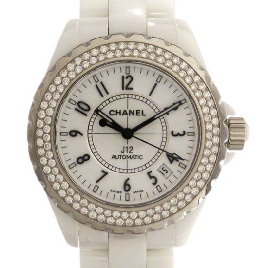 chanel j12 CHANEL J12 38mm Bezel diamond h0969