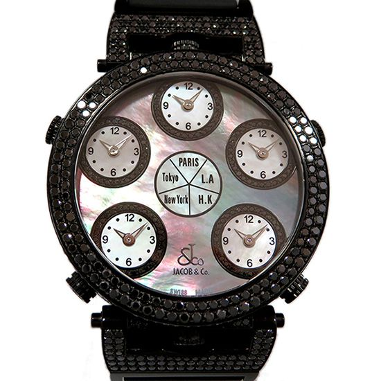 jacobco sixtimezone JACOB&CO Six time zone  jc-lg3dcbd