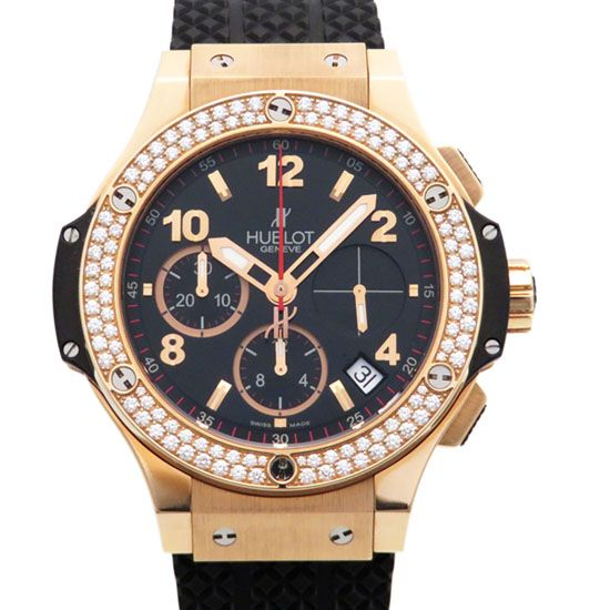 hublot bigbang HUBLOT big Bang gold Bezel diamond 341.px.130.rx.114