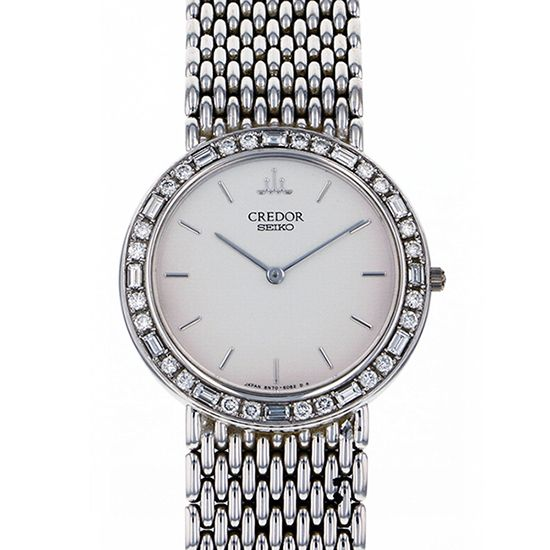 seiko other Seiko Credor Bezel diamond 8n70-6102