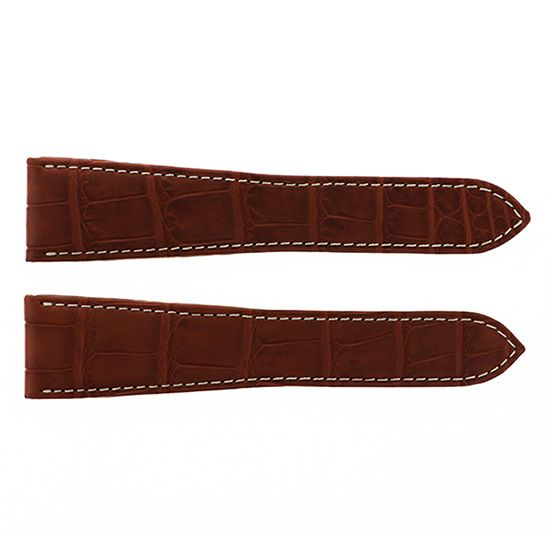 strap cartier Genuine strap Cartier Brown croco -