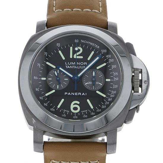 panerai luminor PANERAI Luminor Chronograph Tantalum World Limited 300 pam00192