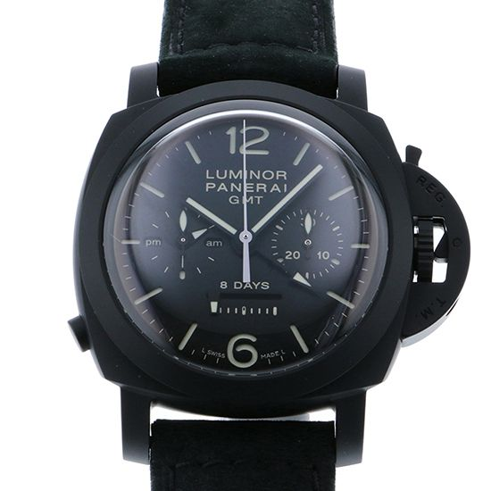 panerai luminor1950 PANERAI Luminor 1950 8 Days Chronograph Monopurusante GMT pam00317