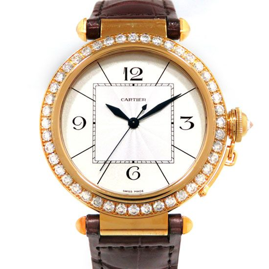 cartier pasha Cartier Pasha 42mm Bezel diamond wj120351