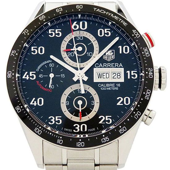 tagheuer career TAG HEUER Carrera Tachymeter chrono Day-date cv2a10.ba0796