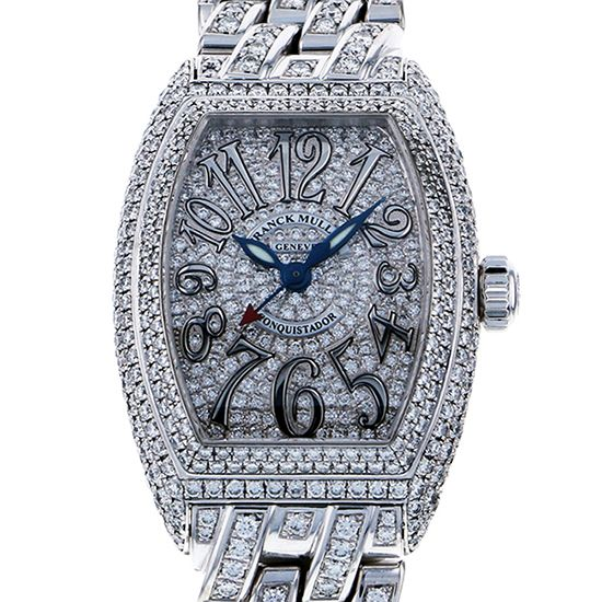 franckmuller conqueror FRANCK MULLER Conquistador Women Case breath diamond 8005l sc d cd