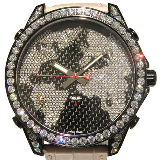 jacobco fivetimezone JACOB&CO Five Time Zone Case diamond jc-47scfdcb