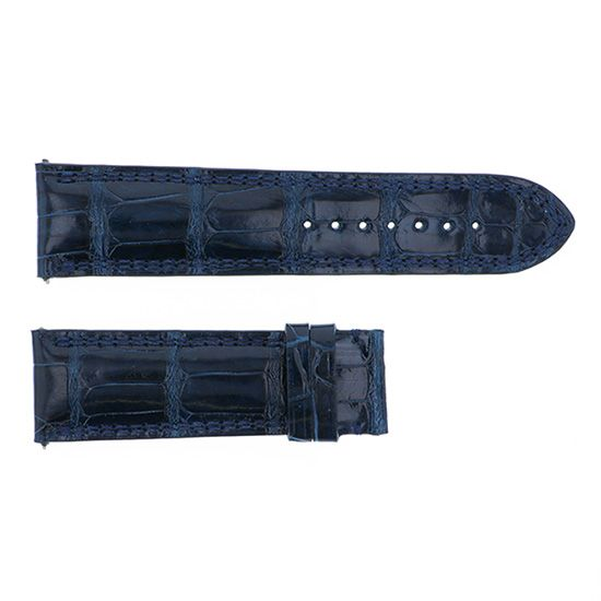 strap dunamis Genuine strap Dynamis For spartan Blue croco -