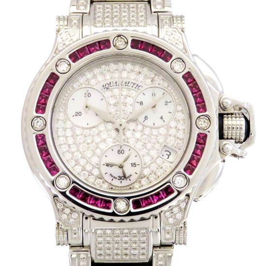 aquanautic princesscuda AQUANAUTIC Princess scuda Bezel bucket sapphire Case breath diamond p6052sb09s0f