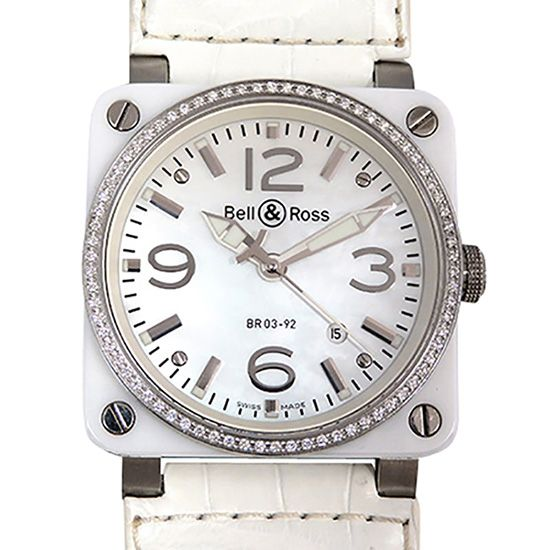 bellross other Bell & Ross Aviator Bezel diamond br03-92-sc