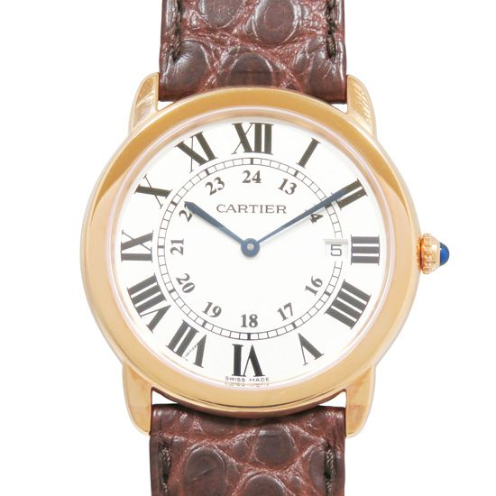 cartier rondesolodecartier カルティエ ロンドソロ LM w6701008