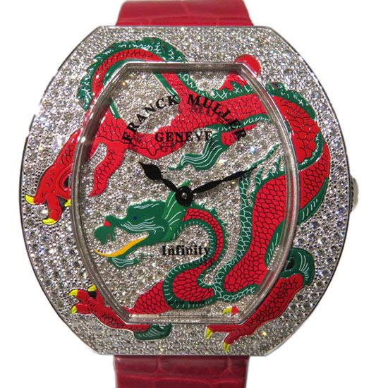 franckmuller other FRANCK MULLER Infinity Dragon Bezel diamond 3540qz drg 2 d cd