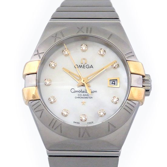 omega constellation OMEGA Constellation Coaxial 123.20.31.20.55.004