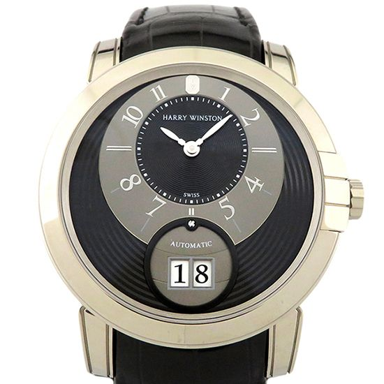 harrywinston midnight HARRY WINSTON Midnight Big date midabd42ww002