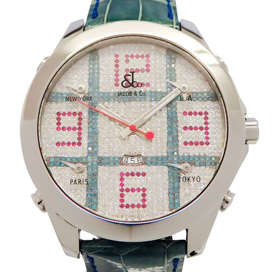 jacobco fivetimezone JACOB&CO Five Time Zone  jc-tic