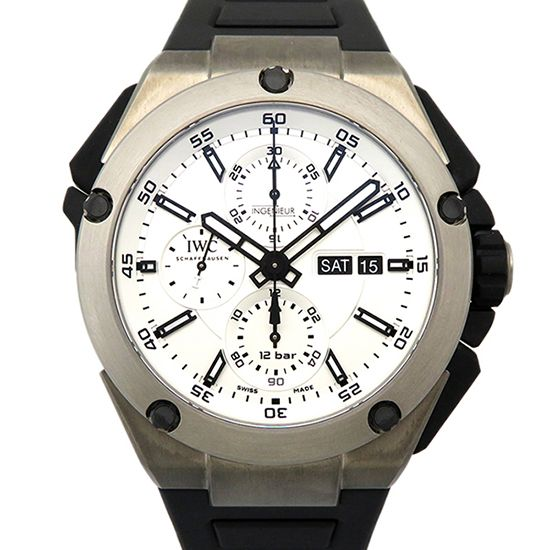 iwc engineer IWC Ingenieur Double chronograph Titanium iw386501