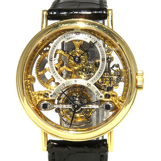 breguet classical Breguet Classical Tourbillon skeleton ba3355/oo/286