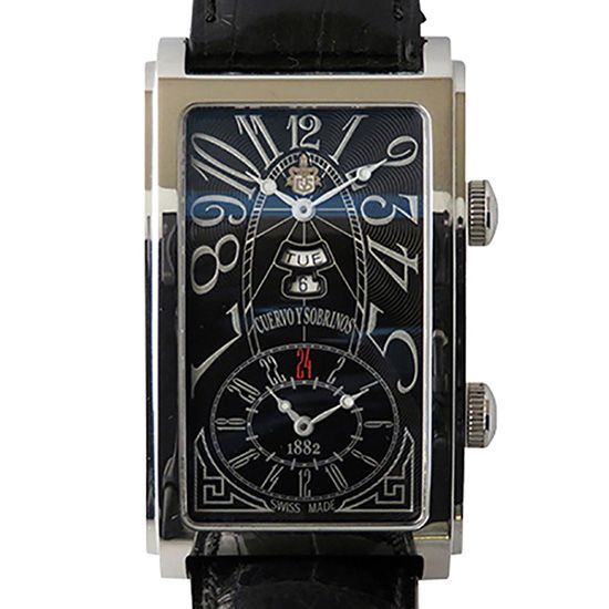 crow and nephews celebrity Cuervo y Sobrinos Prominente Dual time 1124-1ang