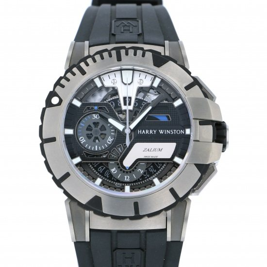 harrywinston ocean HARRY WINSTON Ocean Sports Chronograph World Limited 300 411/mca44zc.k2