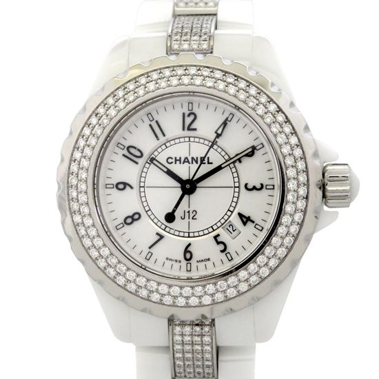 chanel j12 CHANEL J12 Bezel breath diamond h1420