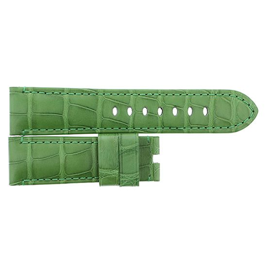strap panerai Genuine strap PANERAI Luminor 44mm Light green croco -