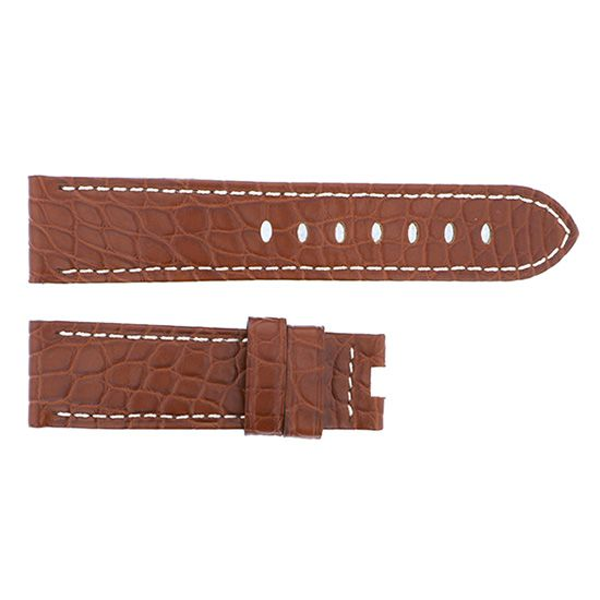 strap panerai Genuine strap PANERAI For D buckle Brown croco -