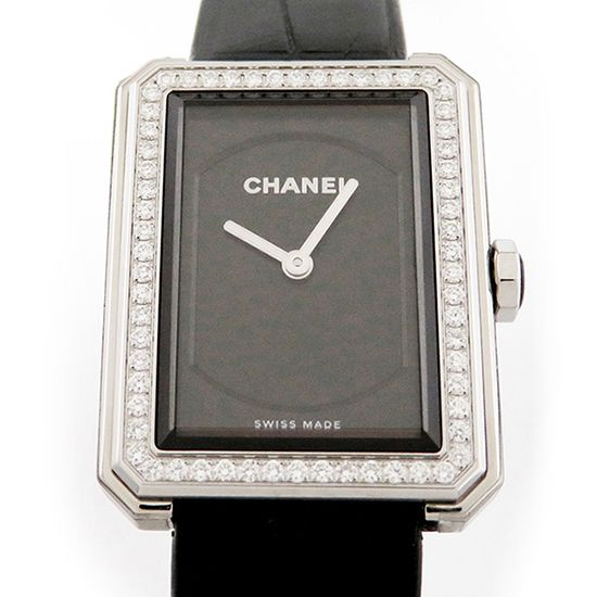 chanel boyfriend CHANEL boy friend Bezel diamond h4883